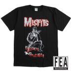 MISFITS ミスフィッツ メンズ半袖Tシャツ バンドTシャツ