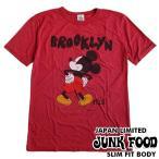 ジャンクフード Tシャツ メンズ 半袖 ミッキーマウス JUNK FOOD