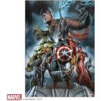マーベル1000ピース  The Avengers:Earth's Mightest Heroes【ピュアホワイト】(38.2×53.2cm)(RPG-1000-633)【ディズニーパズル】