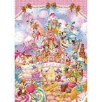 ディズニー266ピース ミッキーのスイートキングダム   ぎゅっとシリーズ 【ピュアホワイト】 (18.2x25.7cm) (DPG-266-570)【ディズニーパズル】