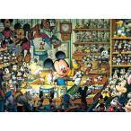 ディズニー500ピース ミッキーのおもちゃ工房 【光るジグソー】(35x49cm) (D-500-354)【ディズニーパズル】