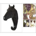 本格派!壁掛けアニマルオブジェ/ホース(中)/馬/頭♯剥製/骨壁掛/オブジェ標本