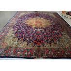 ※終了いたしました。ありがとうございました。・・・・ペルシャ絨毯■294×194■本場Persianクム産■RajabiyanFard■約3畳強相当