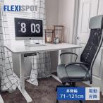 FLEXISPOT スタンディングデクス 電動式昇降デスク パソコンPCデスクE1W  脚部のみ(脚ホワイト,天板別売り)