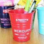 Mercury マーキュリー バケツ ミニ Sサイズ カラフル かわいい おしゃれ ブリキバケツ ペン立て 小物入れ 小物収納  アメリカン雑貨 インテリア小物