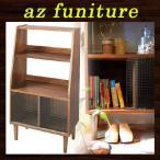 シェルフ 木製ラック キャビネット 収納棚 飾り棚 整理棚 木製棚 たな フリーラック 多目的棚 天然木 ブラウン リビング キッチン ワンルーム 一人暮らし