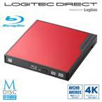 USB3.0ポータブル12.7mmブルーレイドライブ編集再生書込ソフト付き LBD-PMK6U3VRD
