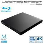 USB3.0ポータブル9.5mmブルーレイドライブ編集再生書込ソフト付き LBD-PUC6U3VBK