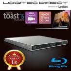 ショッピングブルー 外付けブルーレイドライブ Mac専用 USB3.1(Gen1) / USB3.0 BDドライブ Roxio Toast15 Titanium付属 LBDW-PUD6U3MSV