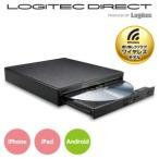 ロジテック スマホでDVDが直接観られるWi-Fi DVDドライブ カラー:ブラック LDR-PS8WU2VBK