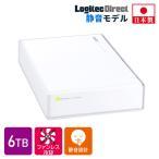 外付けHDD 外付けハードディスク 6TB テレビ録画 USB3.1(Gen1) / USB3.0 日本製 ホワイト PS4/PS4 Pro対応 LHD-EN60U3WSWH