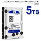 ショッピングロジテックダイレクト WD 製 Blue モデル 内蔵ハードディスク(HDD) 5TB 3.5インチ ロジテックの保証・無償ダウンロード可能なソフト付 LHD-WD50EZRZ