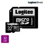 Logitec マイクロSDカード 32GB ドライブレコーダー向け MLC採用高耐久microSDメモリーカード LMC-MSD32G