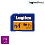 Logitec SDカード 64GB ドライブレコーダー向け MLC採用高耐久SDメモリーカード LMC-SD64G