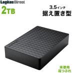 外付けHDD テレビ 2TB Expansion 外付けハードディスク ブラック シーゲート 未使用・箱つぶれ SGD-NZ020UBK-LL
