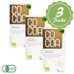 COCOA オーガニックココナッツローチョコレート 3個セ