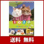 学研ステイフル 2020年 カレンダー 卓上 かご猫 M09083の画像