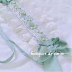 ロリータパールヘッドドレス リボン フリル ヘッドアクセサリー 白ロリ 甘ロリ ゴスロリ ロリータファッション