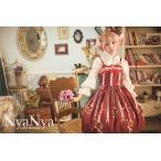ロリータファッション ジャンパースカート ひざ丈 ドレス