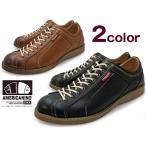 スニーカー メンズ 黒 茶色 アメリカニーノ エドウィン フェイクレザー 軽量 靴 くつ