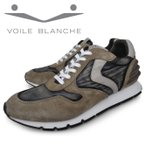 VOILE BLANCHE イタリア スニーカー メンズ ローカット 灰色 茶色 ベージュ