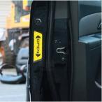 つけ まつげ エンブレム3D デコ 立体 車用 くるま ステッカー カー トヨタ ホンダ シール 「送料無料」