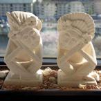 パリマナンお祈りバリスカカップルSアジアンオブジェインテリア