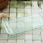 アジアン雑貨 ガラス おしゃれ マルチ トレー トレイ 手作り ナチュラル アジアン 雑貨 お皿