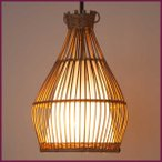 アジアン バリ 雑貨 家具 バンブー 天吊り ランプ おしゃれ ライト 照明 和室 モダン リゾート