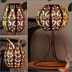 アジアン雑貨 ランプ 照明 おしゃれ 人気 アイアン ライト スタンド バリ LED 新作 NEW