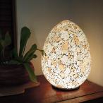 エッグ型ガラス卓上ランプアジアン間接照明照明ライトランプアジアン家具アジアン雑貨インテリアライト照明器具