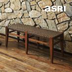 ダイニングベンチ無垢材北欧アジアン家具おしゃれ幅110木製 バリインテリアモダン高級感ベンチ椅子長椅子