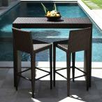 ガーデンチェアラタン調おしゃれアジアン家具バリリゾートインテリアモダン高級感カウンターチェアバーチェアガーデン用テラス屋外