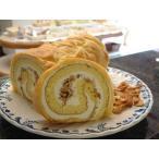 クリスマスケーキ 地元 道の駅で大人気 シューロール ケーキ (お菓子工房 ロリアン)