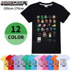 【メール便送料無料】Tシャツ Minecraft マインクラフト キャラクター たくさん 半袖 マイクラ 120cm 130cm 140cm 150cm 160cm