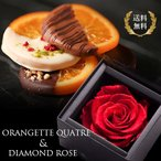 お歳暮ギフト 送料無料!オランジェット キャトル&DIAMOND ROSEセット【ホワイトデー スイーツ チョコレート セール】