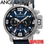 エンジェルクローバー 腕時計 タイムクラフト メンズ クロノグラフ ネイビー/ブラック Angel Clover TIME CRAFT NTC48SNV-NV