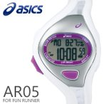 ショッピングasics アシックス ランニングウォッチ 腕時計 asics AR05 for Fun Runner 38mm ファンランナー White ホワイト スポーツウォッチ CQAR0514