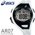 ショッピングasics アシックス ランニングウォッチ 腕時計 asics AR07 for Fun Runner 47mm ファンランナー White/Black ホワイト/ブラック スポーツウォッチ CQAR0714