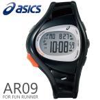 ショッピングasics アシックス ランニングウォッチ 腕時計 asics AR09 for Fun Runner 39mm ファンランナー Black ブラック スポーツウォッチ CQAR0901