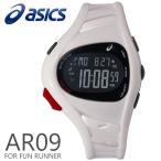 ショッピングasics アシックス ランニングウォッチ 腕時計 asics AR09 for Fun Runner 39mm ファンランナー White ホワイト スポーツウォッチ CQAR0902