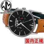 PayPay+10%!300円クーポンも!6/20(日)まで!ウォッチメーカーミラノ 腕時計 バウーシャクロノ クロノグラフ ブラックサンレイ/ブラ..