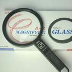 拡大鏡 プラスチックレンズ 手持ちルーペ 虫眼鏡 虫めがね 天眼鏡 アイデアルルーペ 1150-P 2倍&4倍 100mm 池田レンズ