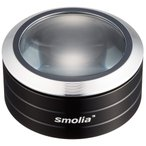 Yahoo!ルーペスタジオLED付ルーペ LED付き デスクルーペ 3倍 拡大鏡 スモリア SMOLIA 3R-SMOLIA-5 3R