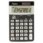 [アスカ]消費税電卓m ブラック c1225bk