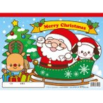 サンタさんのらくがき ノート お絵かき キッズ 子供 幼児 らくがき帳 景品