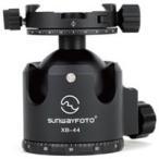 カメラ用三脚 XB シリーズ雲台 自由雲台 パンニング式クランプ XB-44DDH2 SF0016 SUNWAYFOTO