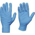 TRUSCO トラスコ中山 使い捨てニトリル手袋TGセーフ 0.13 粉無青L 50枚入 [TGNN13BL] TGNN13BL 販売単位:1