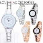 腕時計 レディース かわいい おしゃれ 人気 ブレスレット セラミック風レディースブレスウォッチ
