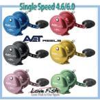 輸入商品AVET REELS LX SERIES LEVER DRAG シングルSpeed4.6/6.0
